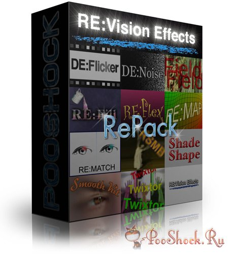 RE:Vision FX Plug-ins Pack 2015 for AE (UP4)