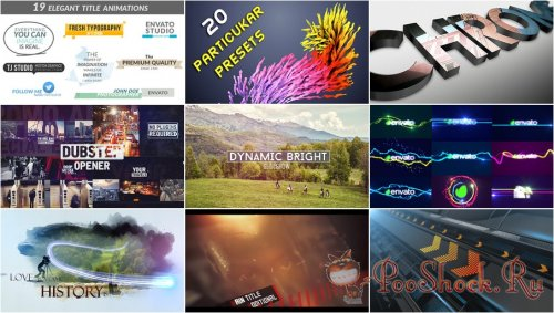 VideoHivePack - 186 (After Effects Projects Pack)