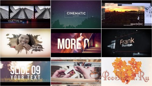 After Effects Projects Pack - 13 (MotionArray)