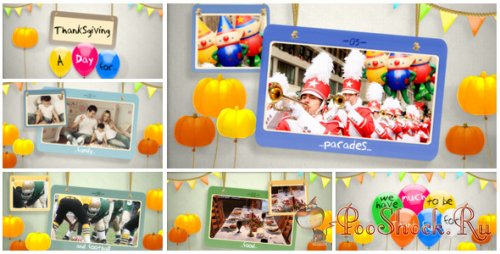 Videohive - Expresso Thanksgiving Day 02 (.aep)