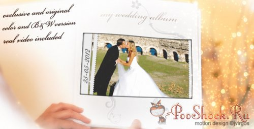 Videohive - Wedding Album Love Memories (.aep)