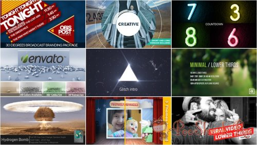 VideoHivePack - 205 (After Effects Projects Pack)