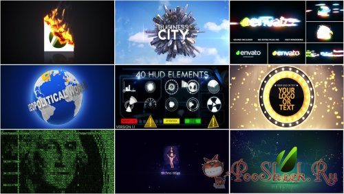 VideoHivePack - 211 (After Effects Projects Pack)