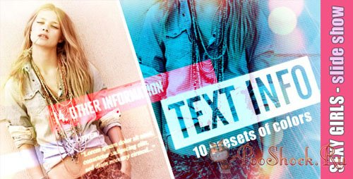 Videohive - Sexy Girls - Slide Show (.aep)