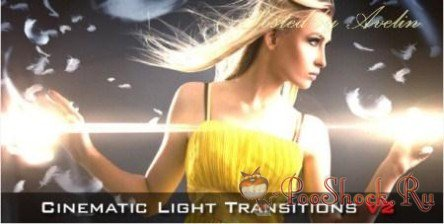 VideoHive - Cinematic Light Transitions V2 - 10 pack ( Motion Graphics) (.aep)