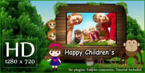 Videohive - Happy Children's (.aep)