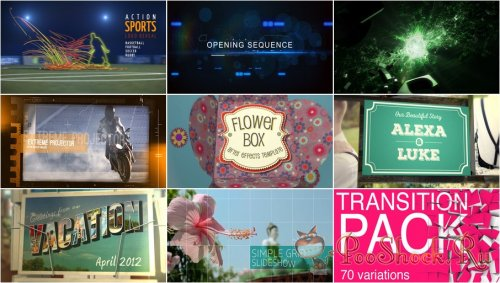 VideoHivePack - 213 (After Effects Projects Pack)