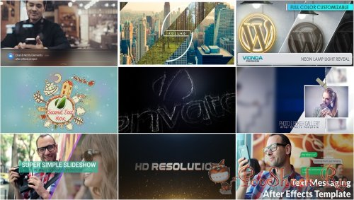 VideoHivePack - 214 (After Effects Projects Pack)