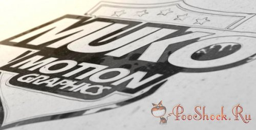 Videohive - Draw And Ink Logo (.aep)