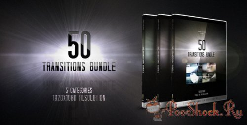 VideoHive - 50 Transitions Bundle (Motion Graphics) (.mov)