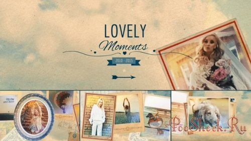 Pond5 -  Lovely Moments (.aep)