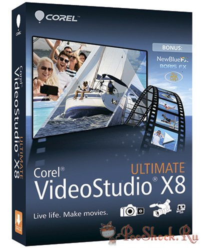 Corel VideoStudio Ultimate 18.6.0.6 SP3 (64-bit) +RUS +Plug-ins +Contents