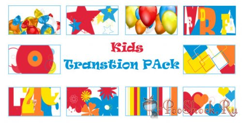 VideoHive - Kids Transition Pack (.mov)