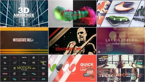 VideoHivePack - 222 (After Effects Projects Pack)
