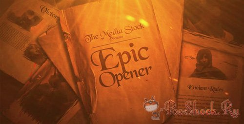 VideoHive - Epic Opener (.aep)