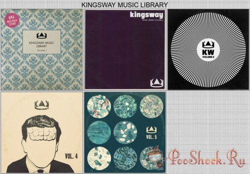 Kingsway Music Library vol.1,2,3,4,5 (WAV)