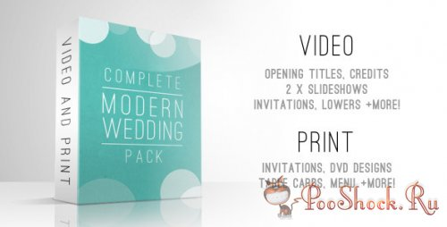 VideoHive - Complete Modern Wedding Pack (.aep)