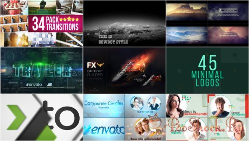 VideoHivePack - 229 (After Effects Projects Pack)