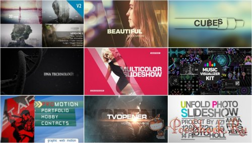 VideoHivePack - 248 (After Effects Projects Pack)