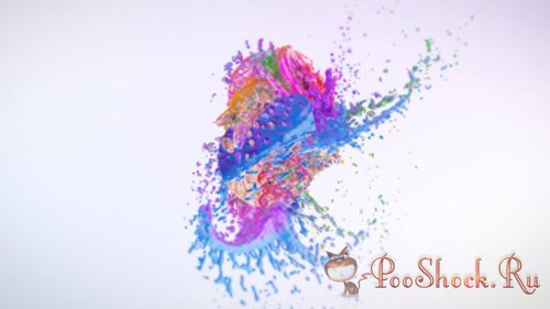 VideoHive - Colorful Splash Logo Reveal (.aep)