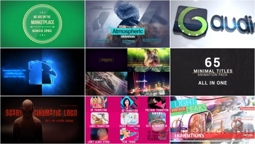 VideoHivePack - 252 (After Effects Projects Pack)