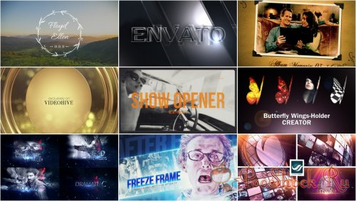 VideoHivePack - 253 (After Effects Projects Pack)