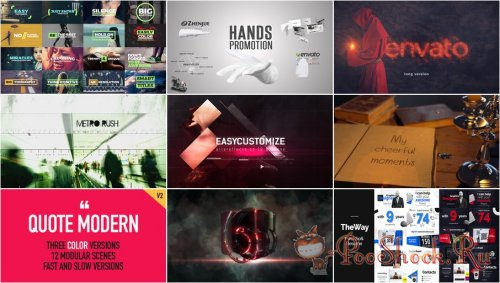 VideoHivePack - 254 (After Effects Projects Pack)