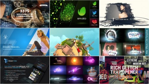 VideoHivePack - 256 (After Effects Projects Pack)