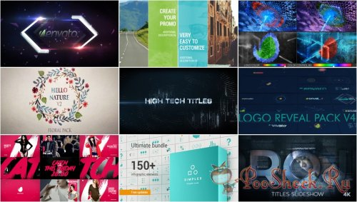 VideoHivePack - 259 (After Effects Projects Pack)