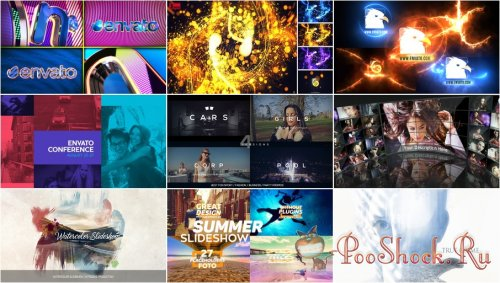 VideoHivePack - 267 (After Effects Projects Pack)