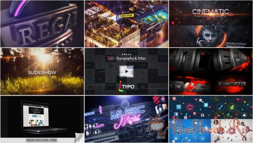 VideoHivePack - 271 (After Effects Projects Pack)