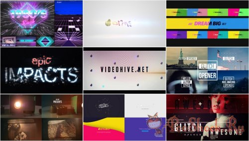 VideoHivePack - 277 (After Effects Projects Pack)