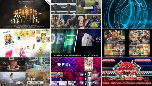 VideoHivePack - 281 (After Effects Projects Pack)