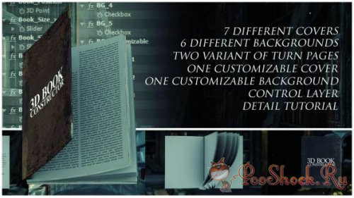 VideoHive - 3D Book Constructor (aep)