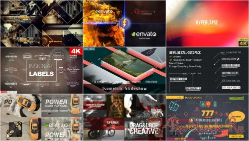 VideoHivePack - 285 (After Effects Projects Pack)