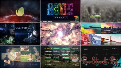 VideoHivePack - 287 (After Effects Projects Pack)