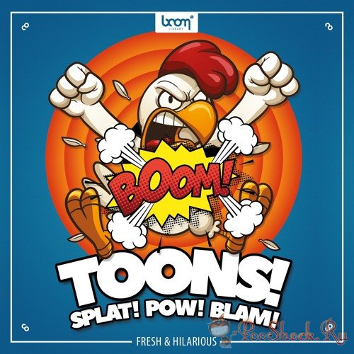 Boom Library - Toons