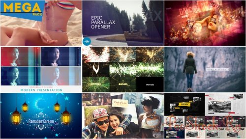 VideoHivePack - 296 (After Effects Projects Pack)