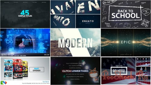 VideoHivePack - 300 (After Effects Projects Pack)