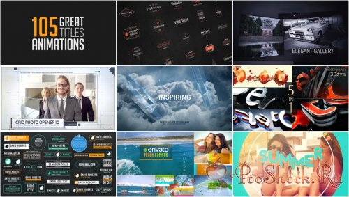VideoHivePack - 302 (After Effects Projects Pack)