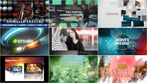VideoHivePack - 310 (After Effects Projects Pack)