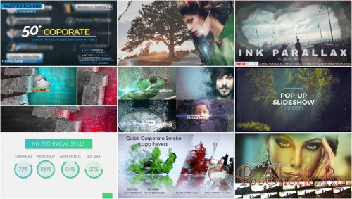 VideoHivePack - 317 (After Effects Projects Pack)