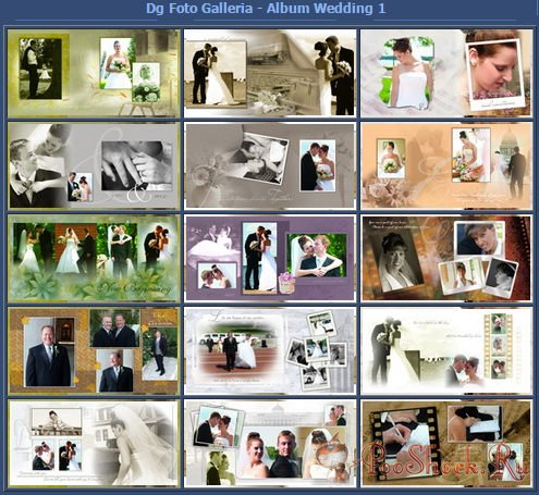 DG Foto Galleria - Wedding Vol.01-05 + Dg Foto Art v5.2 RUS-ENG RePack