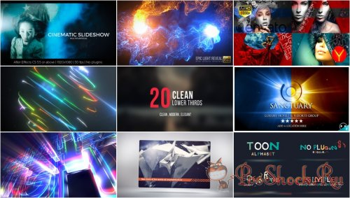 VideoHivePack - 327 (After Effects Projects Pack)
