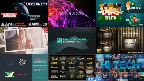 VideoHivePack - 329 (After Effects Projects Pack)