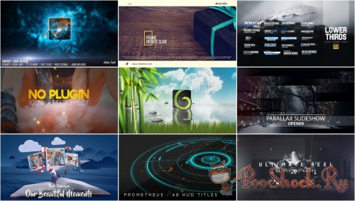 VideoHivePack - 330 (After Effects Projects Pack)