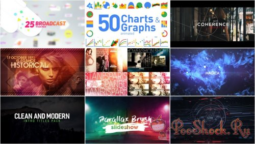 VideoHivePack - 331 (After Effects Projects Pack)