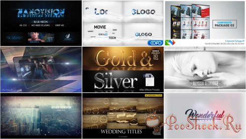 VideoHivePack - 332 (After Effects Projects Pack)