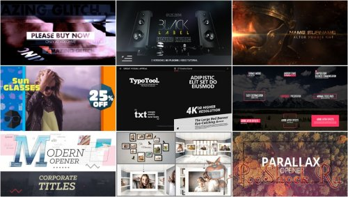 VideoHivePack - 334 (After Effects Projects Pack)