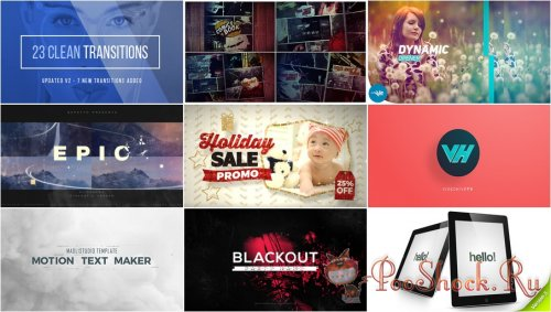 VideoHivePack - 335 (After Effects Projects Pack)